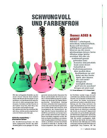 Gitarre & Bass Ibanez AS63 & AS63T