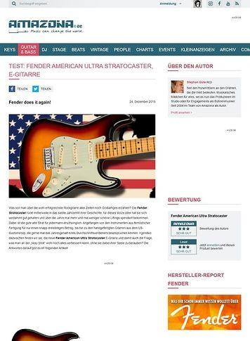 Amazona.de Fender American Ultra Stratocaster