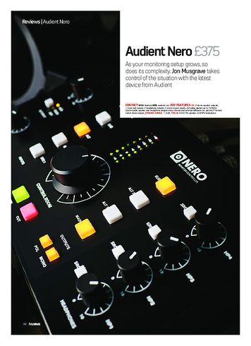 Future Music Audient Nero