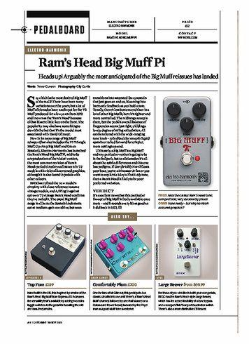 Guitarist Rams Head Big Muff Pi