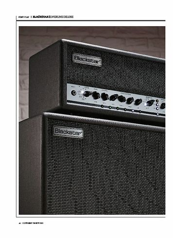 Guitarist BLACKSTAR SILVERLINE DELUXE 100-WATT HEAD