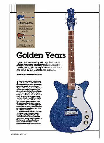 Guitarist Danelectro 59M NOS+ 60 Anniversary