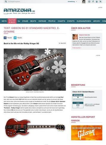 Amazona.de Gibson SG 61 Standard Maestro VC