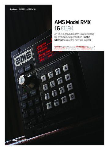 Future Music AMS Model RMX 16