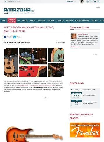 Amazona.de Fender AM Acoustasonic Strat
