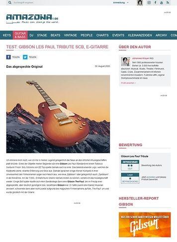 Amazona.de Gibson Les Paul Tribute SCB