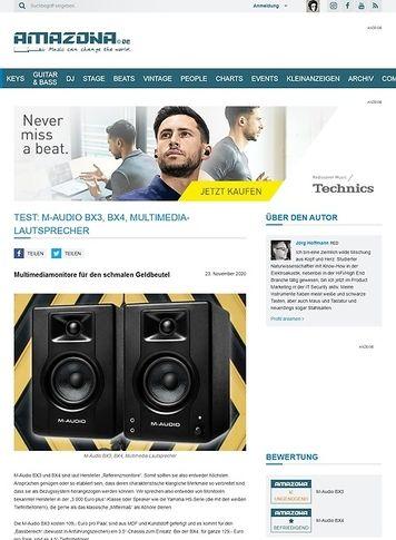 Amazona.de M-Audio BX3, BX4