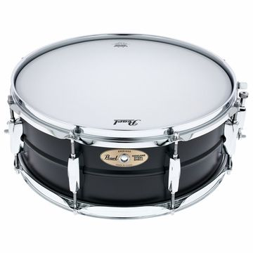 "Pearl 14""x5,5"" Black Steel Snare"