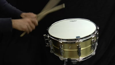 Yamaha New Recording Custom 14x6,5 Messing Snare Drum