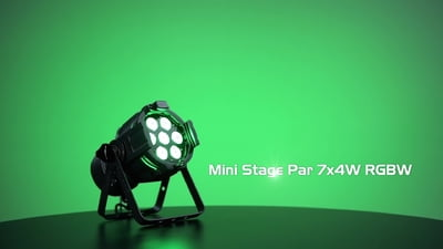 Stairville Mini Stage Par 7x4W