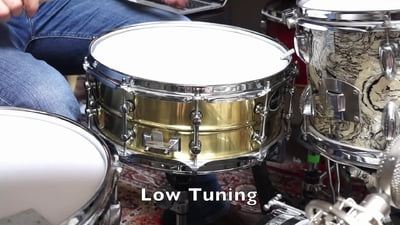 Millenium 14x5,5 Power Brass Snare Drum