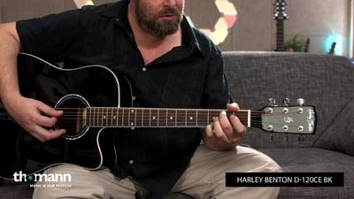 Harley Benton D-120CE BK