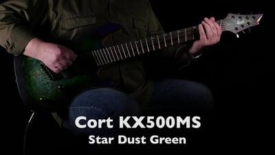 Cort KX500MS Star Dust Green