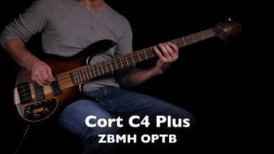 Cort C4 Plus ZBMH Open Pore Tobacco Burst