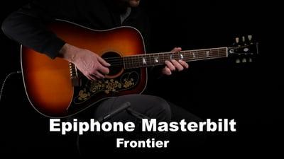 Epiphone Masterbilt Frontier