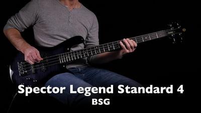 Spector Legend Standard 4 BSG