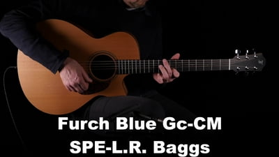 Furch Blue GC-M / SPE-L.R.Baggs