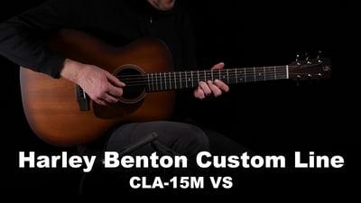 Harley Benton Custom Line CLA-15M VS