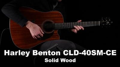Harley Benton CLD-40SM-CE Solid Wood