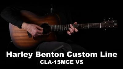 Harley Benton Custom Line CLA-15MCE VS