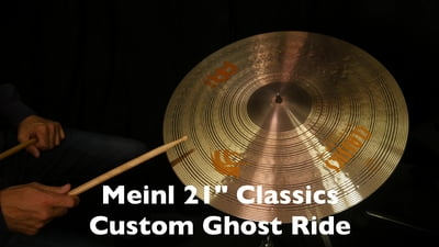 Meinl 21 Classics Custom Ghost Ride