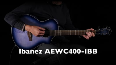 Ibanez AEWC400-IBB Westerngitarre
