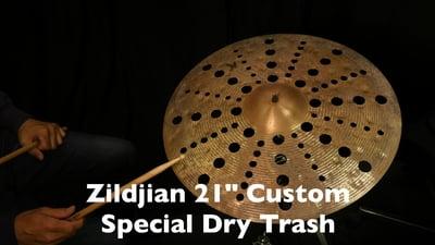 Zildjian 21 K Custom Special Dry Trash Crash