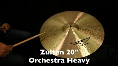 Zultan 20 Orchesterbecken